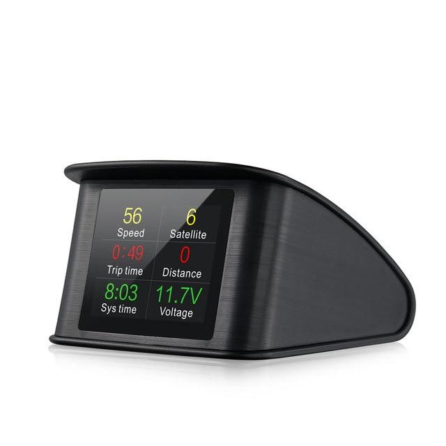 Фото автомобильный hud дисплей универсальный obd2 gps скоростной цена