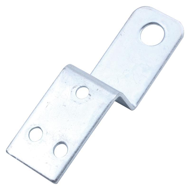 Furniture Shelf 70x20mm Z Shaped Corner Brace Plate Angle Bracket 5pcs