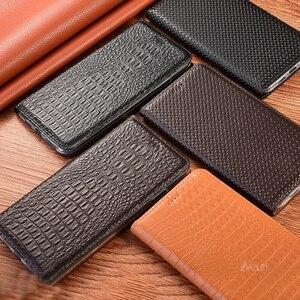 Image 2 - Skórzane etui z klapką na telefon do Samsung Galaxy S20 S21 Plus Ultra krokodyl na notatkę 8 9 10 Plus Lite 20 Ultra etui