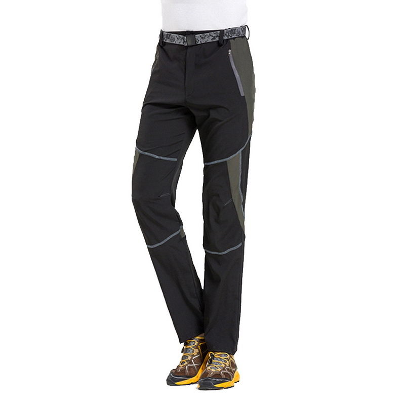 Elastic Trousers Pant Outdoor Quick-Dry Mens Autumn Mountain Fishing Trekking Female