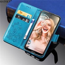For Cover Huawei Y5 2019 Wallet Case Flip PU Leather Silicone Stand Phone Bag