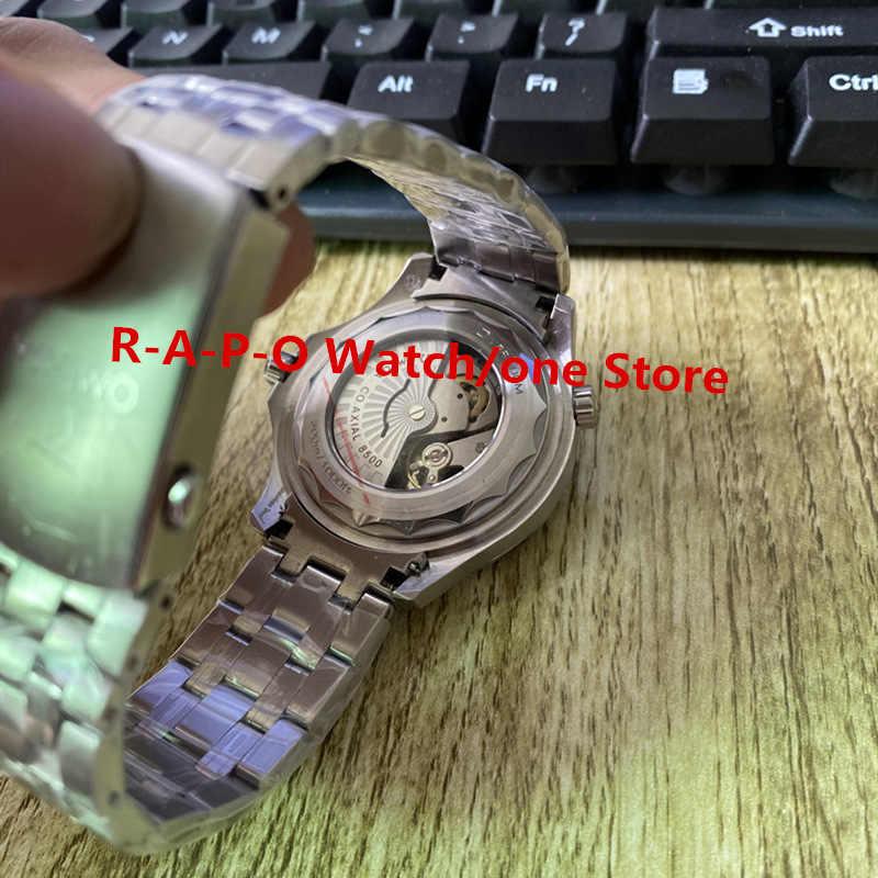 42 millimetri Meccanico Automatico Della Vigilanza di Mens Orologi ceramica Zaffiro Calendario Luminoso Orologio Meccanico 904L H Niubbo