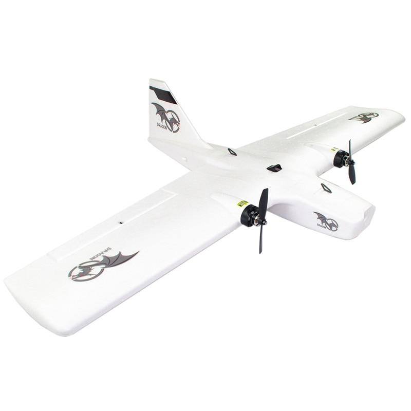 REPTILE DRAGON-1200 1200mm RC Airplane Wingspan EPP Twin Motor Multirole Aerial Survey Model Toys for Boys FPV KIT / PNP