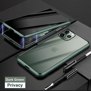 Μαγνητική θήκη προστασίας για iphone xr xs x 11 pro max 8 7 6 plus