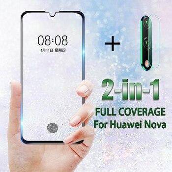 Перейти на Алиэкспресс и купить Закаленное стекло для Huawei Nova 5 5i Pro 5T 5Z 6 6 SE защита для экрана объектив камеры для Nova 3 3i 3E 4 4E Противоударная пленка