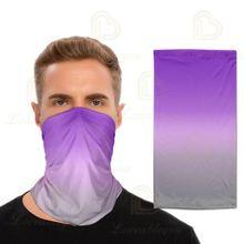 Градиентный Цветной 3d цифровой печати головной платок Спортивные