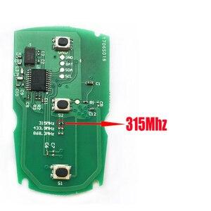 Image 2 - 3 buttons Car key For BMW E87 E60 E70 E90 E92 E71 E61 For BMW 1 3 5 7 Series X5 X6 Z4 Remote key 868Mhz/315Mhz/433Mhz PCF7953