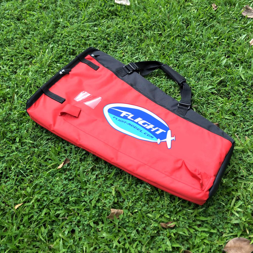 RC Hobby Airplane Model Wing Bag 50-70CC For Airplane Wing Unit Red image