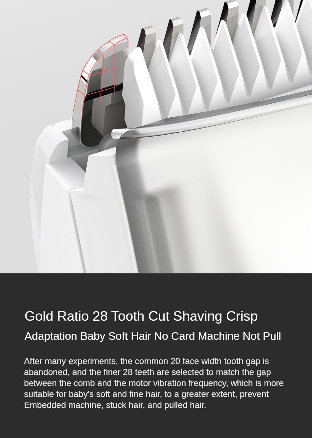 mudo à prova dwaterproof água clipper cabelo sono