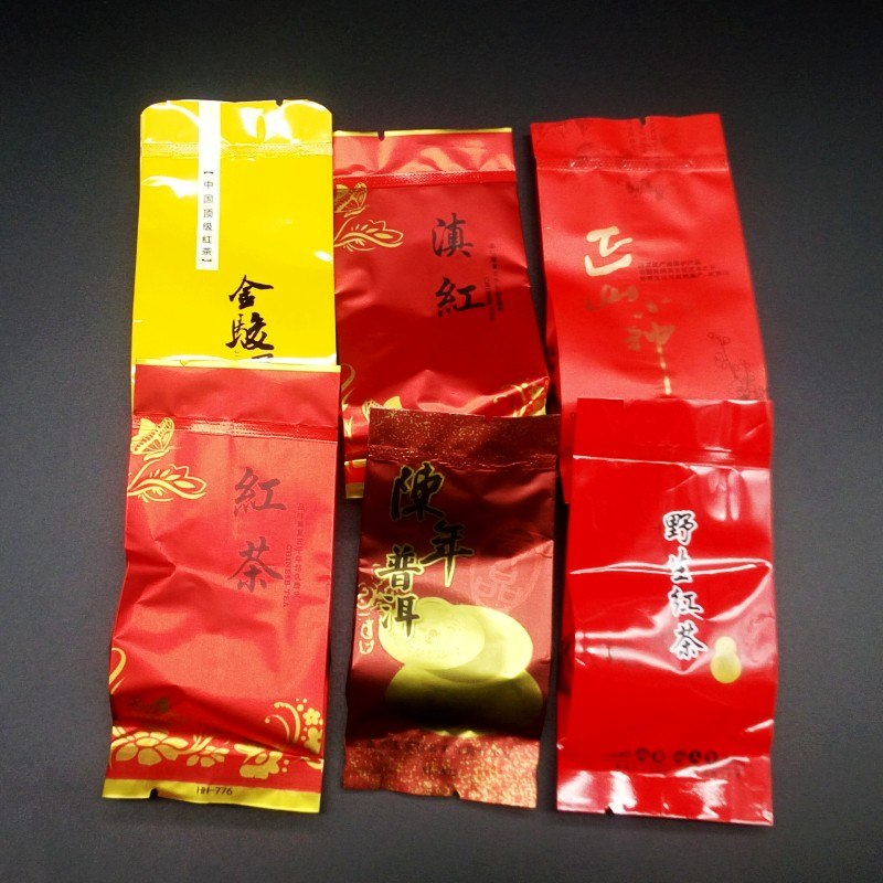 6 kinds of  Black Tea 36 bags High quality Chinese Ginseng oolong Green food Tea 2