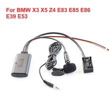 Adaptador Bluetooth Car Aux Linha Auxiliar Para BMW X3 X5 Z4 E83 E85 E86 E39 E53