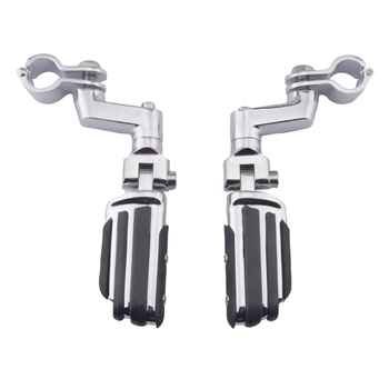 Durable Passenger Floorboards Rear Footboards Foot Rest Pegs Mounts Water Resistance Fit for YAMAHA