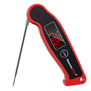 Image 1 - Termômetro digital instantâneo tp19, medidor de leitura rápida à prova dágua para churrasco
