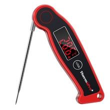 ThermoPro TP19 דיגיטלי מיידי מהיר קריאה בשר מדחום עמיד למים מנגל מדחום