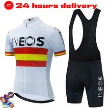 2021 New INEOS Summer Cycling Jersey Set Breathable Team Racing Sport Bicycle Jersey Mens Cycling Clothing Short Bike Jersey