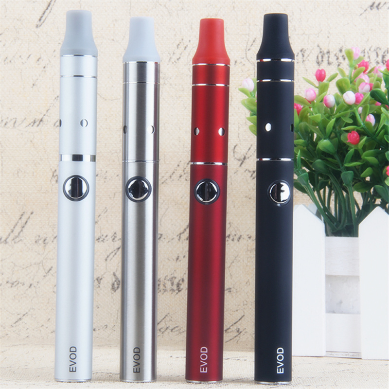 1100mAh EVOD Electronic Cigarette Kits Portable Dry Herb Vape Pen Mini Ago G5 Herbal Vaporizer Kit Mod Vapor E Cigs