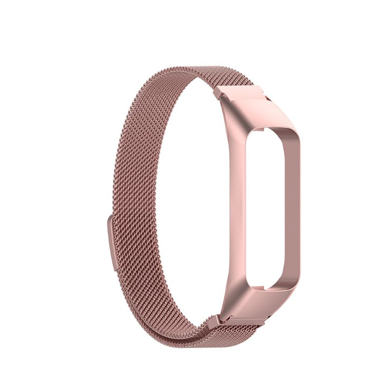 Smart Watch Band Fit e Wrist Band Fashion Milanese Stainless Steel Replacement Magnetic Strap for Samsung Galaxy Fit e Smart Ban in Smart Accessories from Consumer Electronics