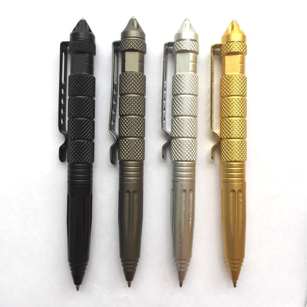 Táctico pluma Suministros de defensa Personal paquete Simple de acero de tungsteno de Personal protección seguridad herramienta de defensa EDC