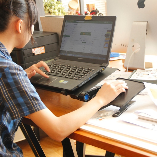 Adjustable Lifting Laptop Table  4