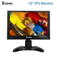 Eyoyo 10 Inch TFT LCD HDMI 1920x1200 Monitor Full HD Screen VGA/HDMI/BNC Input Car FPV DVD PC CCTV Camera Monitor