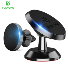 FLOVEME Magnetic Car Phone Holder For Samsung Galaxy S10 Note 9 8 Air Vent Mount Magnet Phone Holder For iPhone 11/11 Pro Max XR