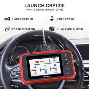 Image 2 - เปิดตัว X431 CRP129i รถการวินิจฉัยเครื่องมือเครื่องยนต์ ABS เกียร์ถุงลมนิรภัยสแกนเครื่องมือ SAS รีเซ็ตน้ำมัน5บริการฟังก์ชั่น OBD2 Scanner