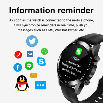 E1-2 Smart Watch Men Bluetooth Call Custom Dial Full Touch Screen Waterproof Smartwatch For Android IOS Sports Fitness Tracker 6