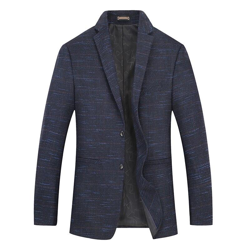 New Big Plus Size 8xl 7xl 6xl Mens Fashion Cotton Blazer Suit Jacket Male  Blazers Mens Business Casual Coat