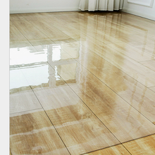 Transparent Wood Floor Protection Mat PVC Plastic Floor Carpet Chair Mats Round Carpet Rug Table Mat Furniture Protective Film