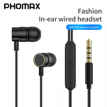 VOXLINK In-Ear Wired Earphone 3.5mm Earbud Earphones Music Sport Gaming Headset With mic For IPhone Xiaomi Samsung Huawei Stereo