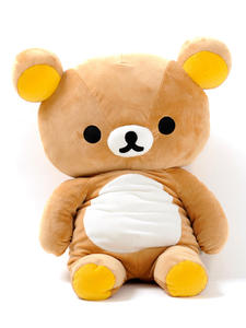 Doll Plush-Toy Couple Birthday-Gift Girlfriend Cartoon Rilakkuma Character Bear Kid