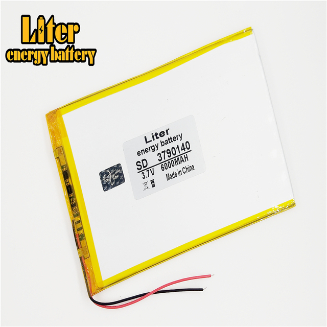 9inch 10inch large capacity 3.7 V tablet battery 6000 mah each brand tablet universal rechargeable lithium batteries 3790140