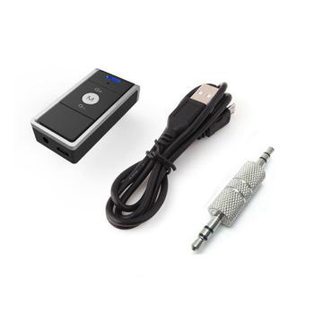 Przenośna bezprzewodowa muzyka V4 2 odbiornik Audio Adapter samochodowy samochodowy do telefonu dźwięk telefonu odbiornik Audio samochodowy sprzęt Audio konwerter tanie i dobre opinie BYGD