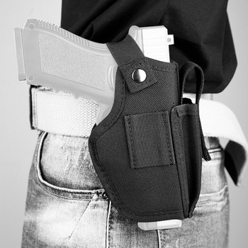 Hunting Tactical Gun Holster Universal Concealed Carry Molle Clip Mag Pouch Bag IWB OWB Military Airsoft Handgun Pistol Holster aaa tactical waist pistol holster safety anti thief hidden holster molle hidden gun bag hunting shoulder bag sport storage