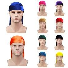 Модная однотонная прочная повязка на голову для мужчин и женщин