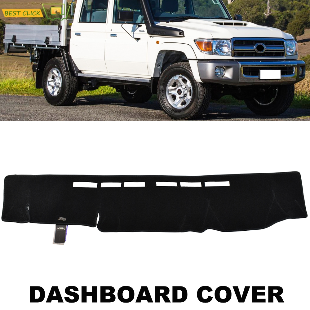 Крышка приборной панели Xukey Dashmat для Toyota Landcruiser 70 76 78 79 Series 2009 - 2020 Dash Cover Pad Sun Shade Carpet