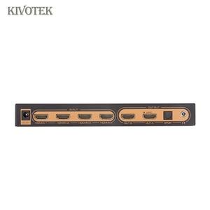 Image 4 - 6x2 HDMI Matrix Switcher 4K Hdmi 6 to 2 matrix Switch Adapter Audio EDID/ARC/Audio Extractor,PIP For HDTV CCTV DVD Free Shipping