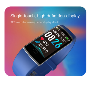 Image 2 - Z9 Smart Fitness Bracelet with Pressure Measurement Health Bracelet 5 in 1 Wristband Tracker Pedometer Heart Rate Monitor Band