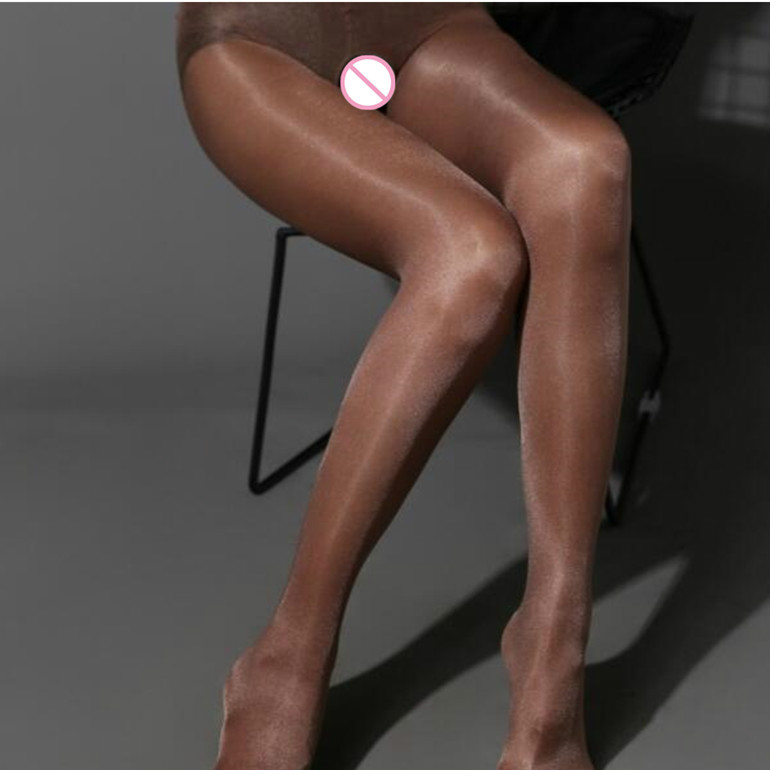 Shengrenmei Sexy Tights Shine Stockings Lady Women Ultra-thin Invisible Pantyhose Sheer Crotchless Bling Tights Medias De Mujer