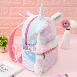 25-35 CM Baby Backpack Unicorn Mochila Niño Stuffed & Plush Animals Plush Backpacks Soft Toys for Children Gift for Girlfriend