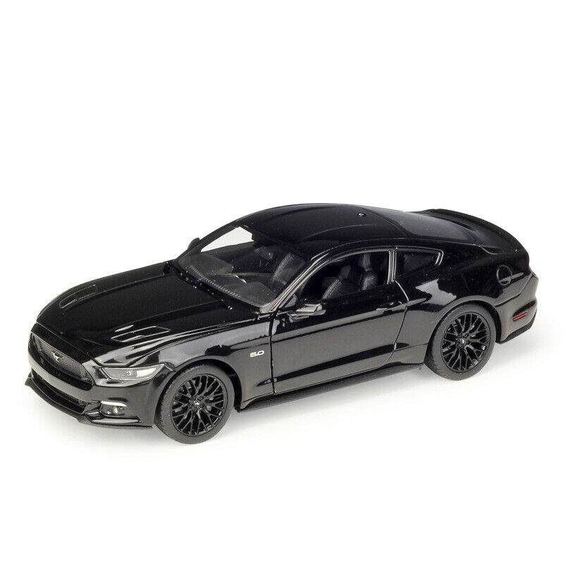 Welly <font><b>1</b></font>:24 2015 Ford Mustang <font><b>GT</b></font> 5.0 Diecast Model Racing Car New in Box image