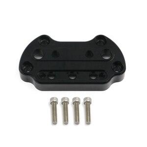 Image 2 - Support de serrage supérieur pour guidon, pour Harley Sportster Dyna, 95 up, XL883 et XL1200, Fat Street Bob Low Rider