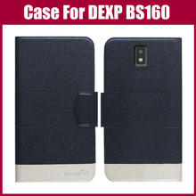 Лидер продаж! DEXP BS160 чехол 5 цветов Флип ультра-тонкий модный цветной кожаный защитный чехол для телефона DEXP BS160 чехол