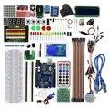 Upgrade Geavanceerde Versie Starter Kit Voor Arduino Voor Uno R3-Voor Uno R3 Breadboard En Houder Stap Motor/ servo/Jumper Wire/