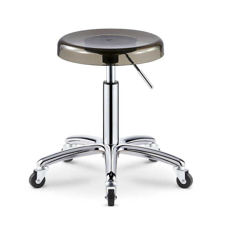 Explosion-proof Version Of Stainless Steel Lifting Beauty Chair Beauty Stool Not Card Hair Work Bench Hairdressing Stool