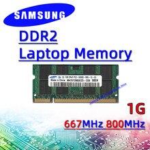 Samsung ddr2 1GB 667MHz 800MHz RAM Sodimm Laptop Memory pc2- 5300S 6400S 2GB 4GB