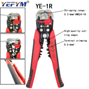 Image 5 - YEFYM HSC8 6 4/6 6 Crimping Pliers Kit YE 1R Stripping Cutting Plier with 1020pcs/box Tube Terminal Suit Electric Tools Set