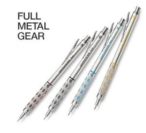 Image 2 - GraphGear 1000 ensemble de crayons mécaniques de dessin de baril en aluminium PG1013/15/17/19(0.3/0.5/0.7/0.9mm) conception danimation