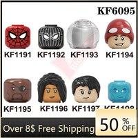 Figuras de ação de brinquedo do filme de heróis famosos kf6095 figuras cabeça para crianças