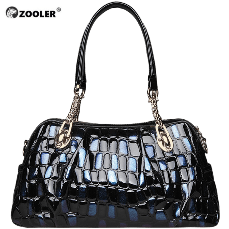 ZOOLER Brand Luxury Genuine Leather Bag Hot For Women Leather Bag Female Women's Handbags Fashion Shoulder Bags Tote Bag Leather